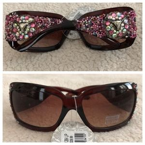 Accessories - Montana West Western Longhorn beads Sunglasses